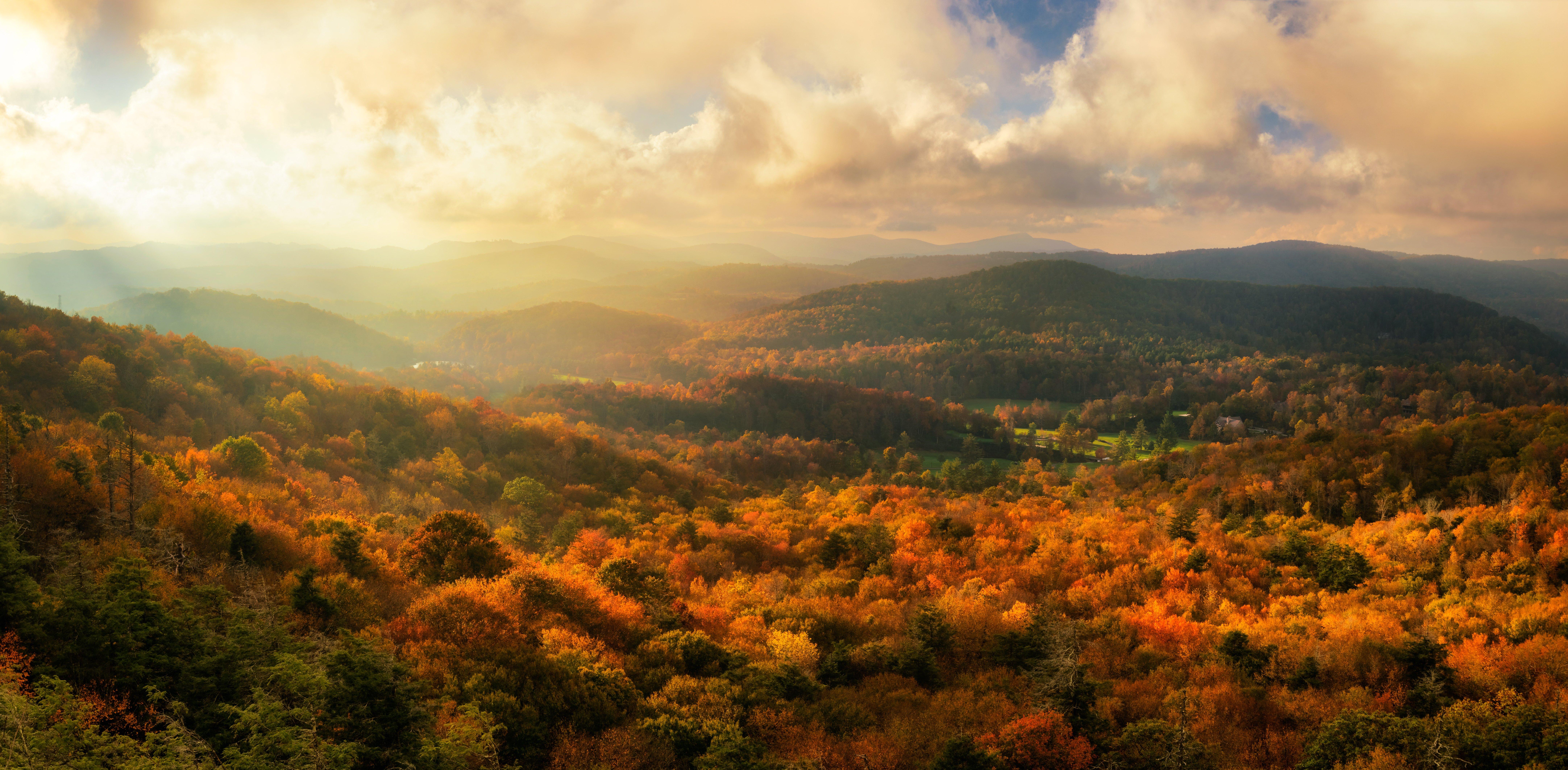 Flat Rock Overlook North Carolina